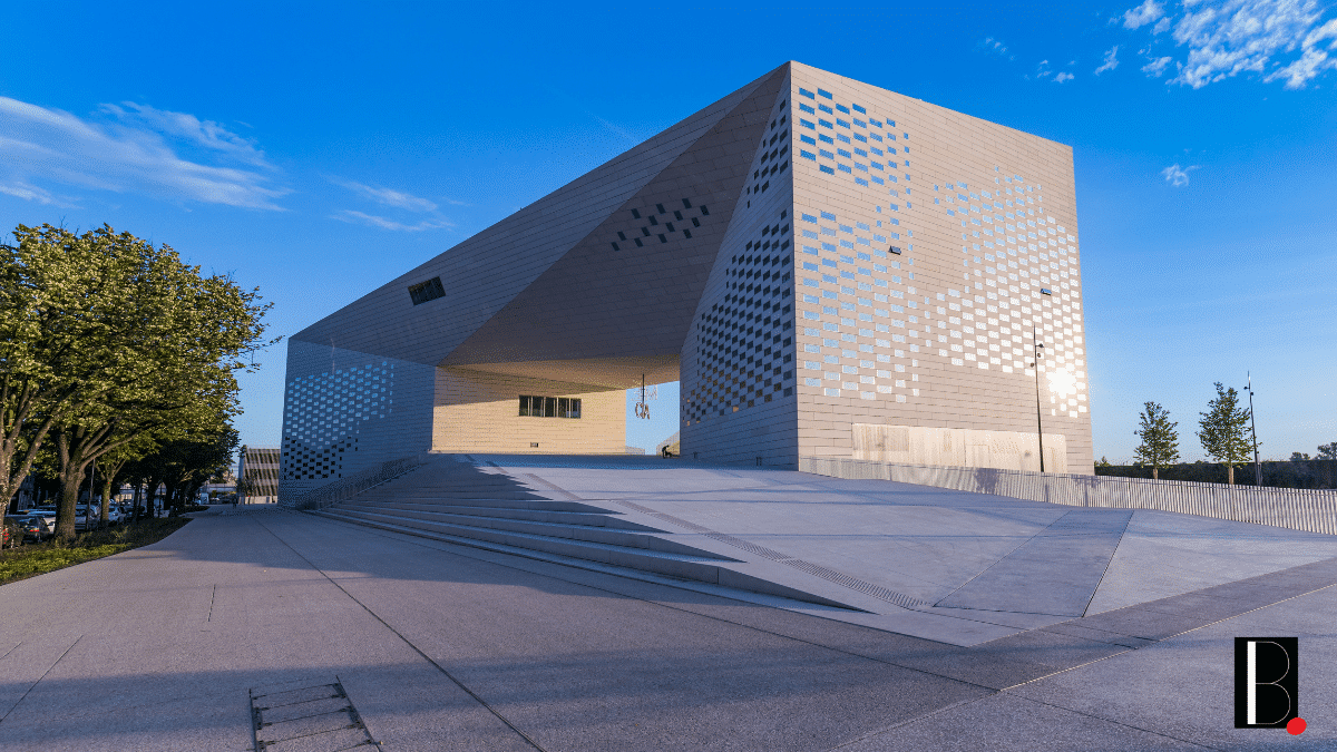 Meca bâtiment art Bordeaux Euratlantique