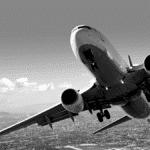 Décollage avion ciel nuage