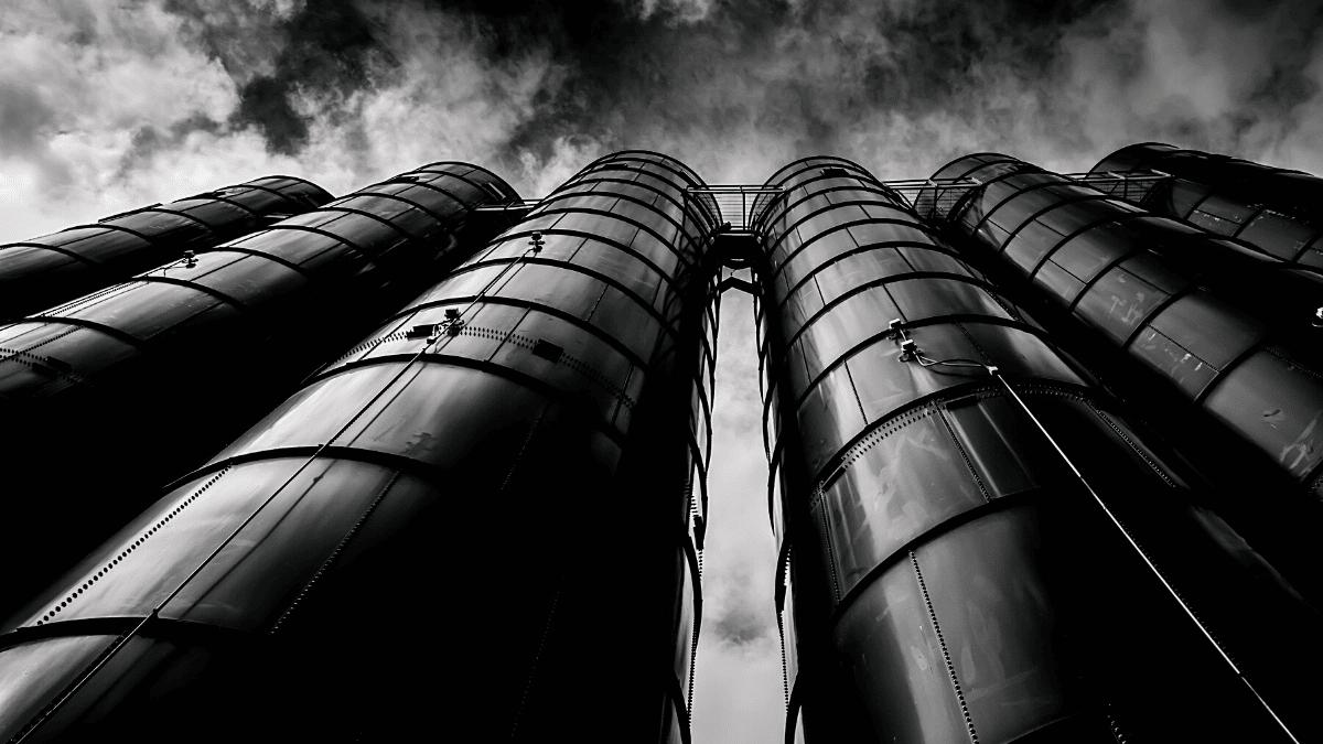 Usine industrie silos