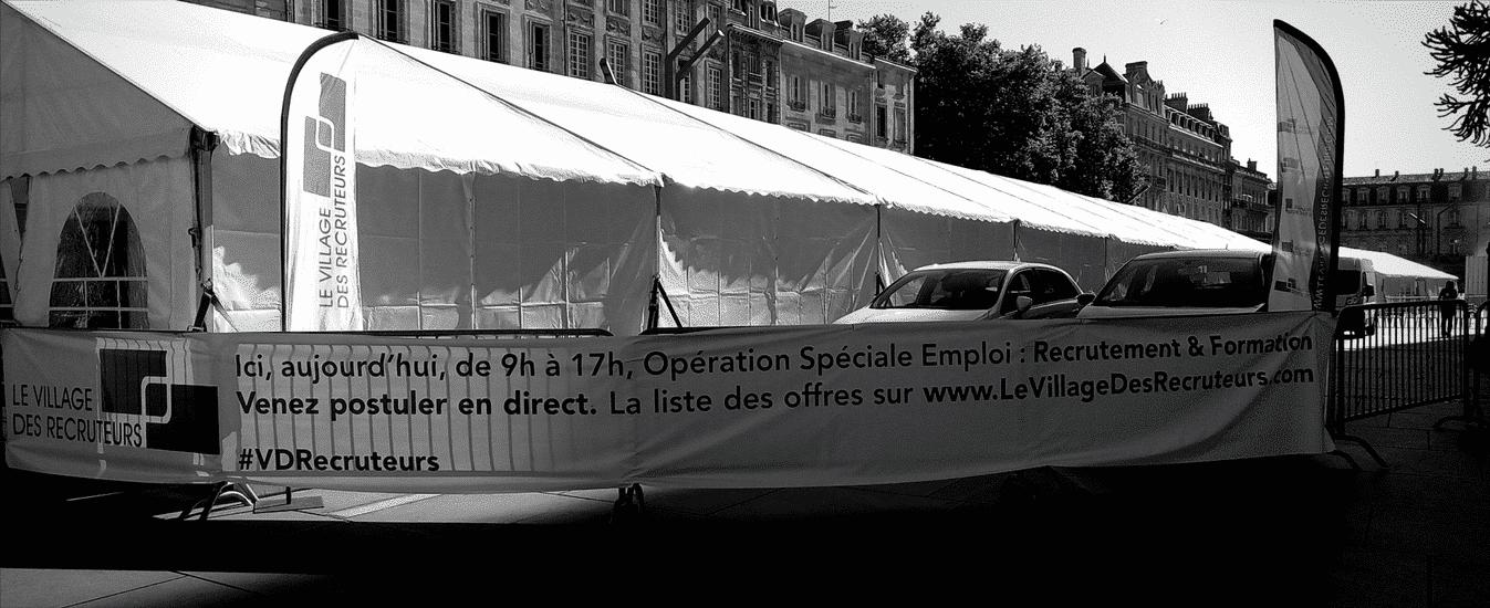 Le Village des Recruteurs à Bordeaux, l'emploi au rendez-vous !