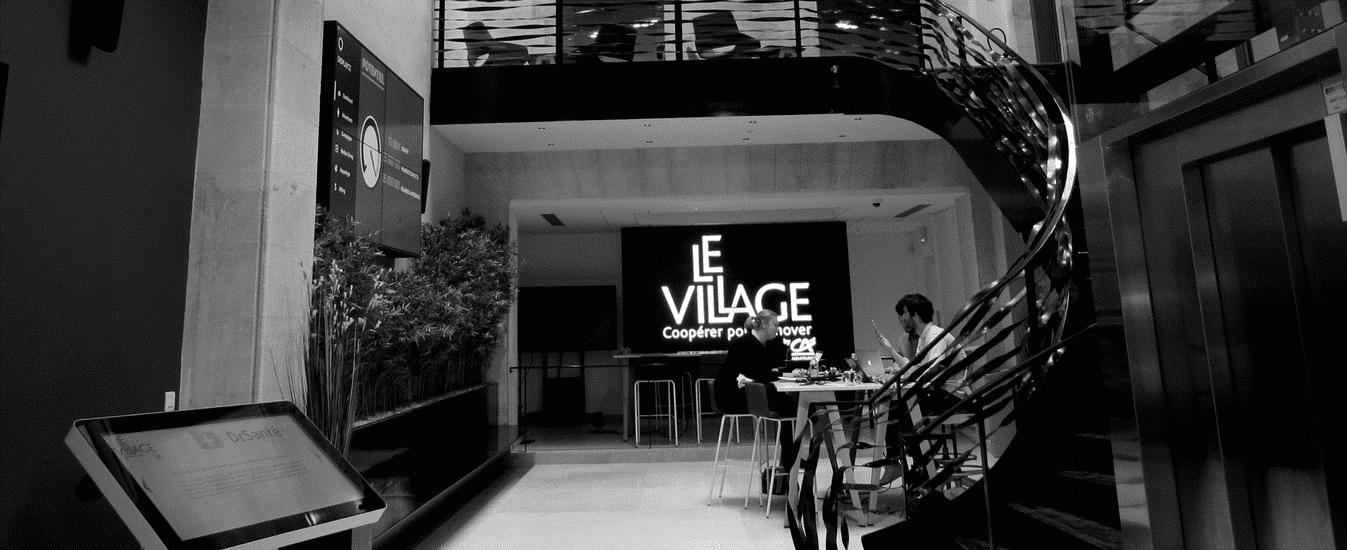 Cédric VICENTE, «Maire» entrepreneur du Village by CA