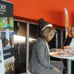Stand medef Kedge Université des Entreprises Bordeaux Business