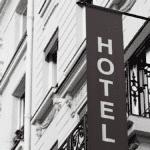 hotel facade batiment ville