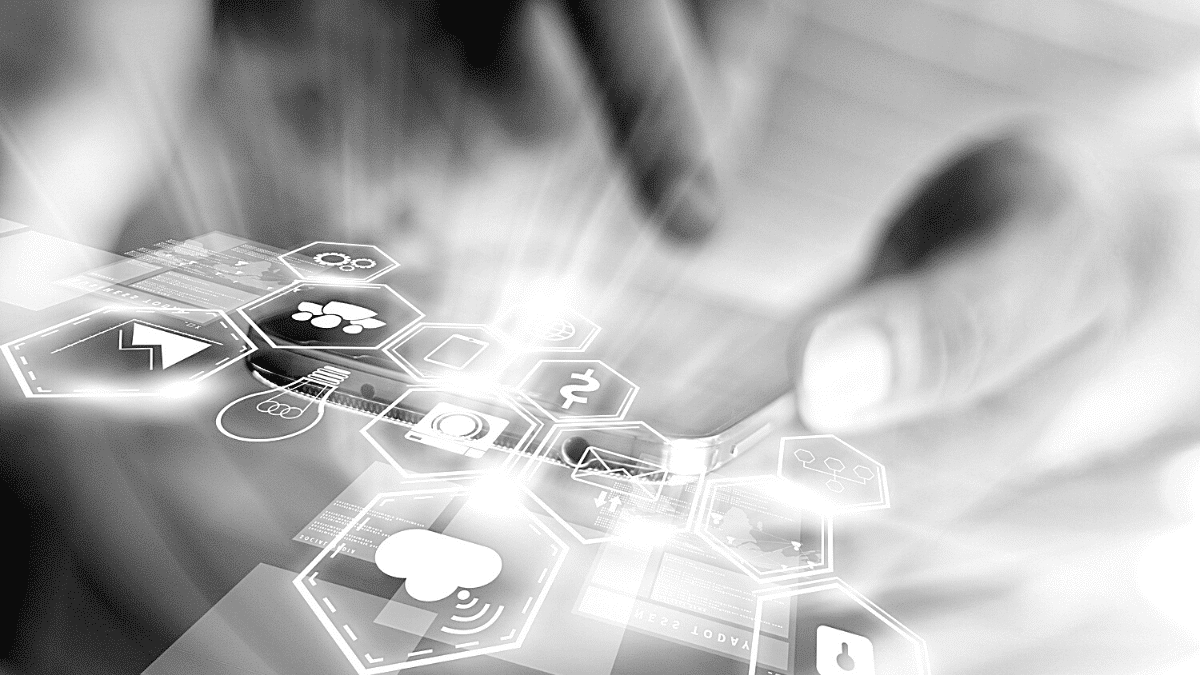 strategie media digital concept
