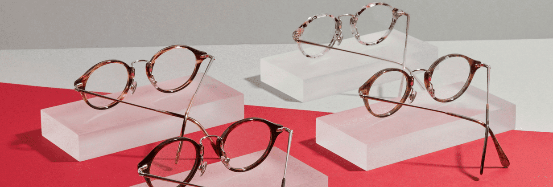 Les lunettes proposées par Sensee de la gamme Lutina
