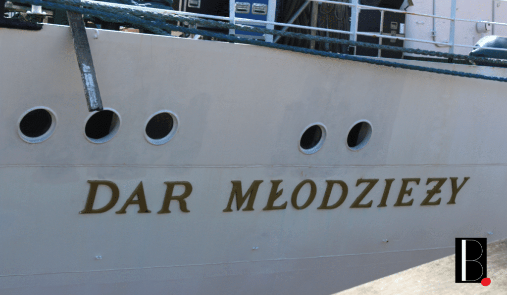 Coque du voilier dar mldziezy Bordeaux Business