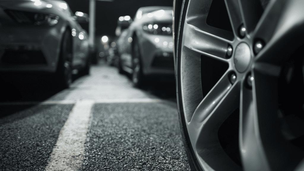 Parking wheels cars
