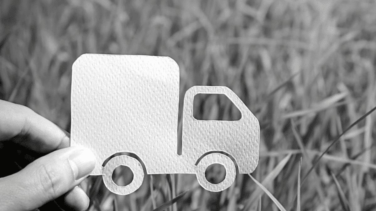 Camion de livraison bordeaux business