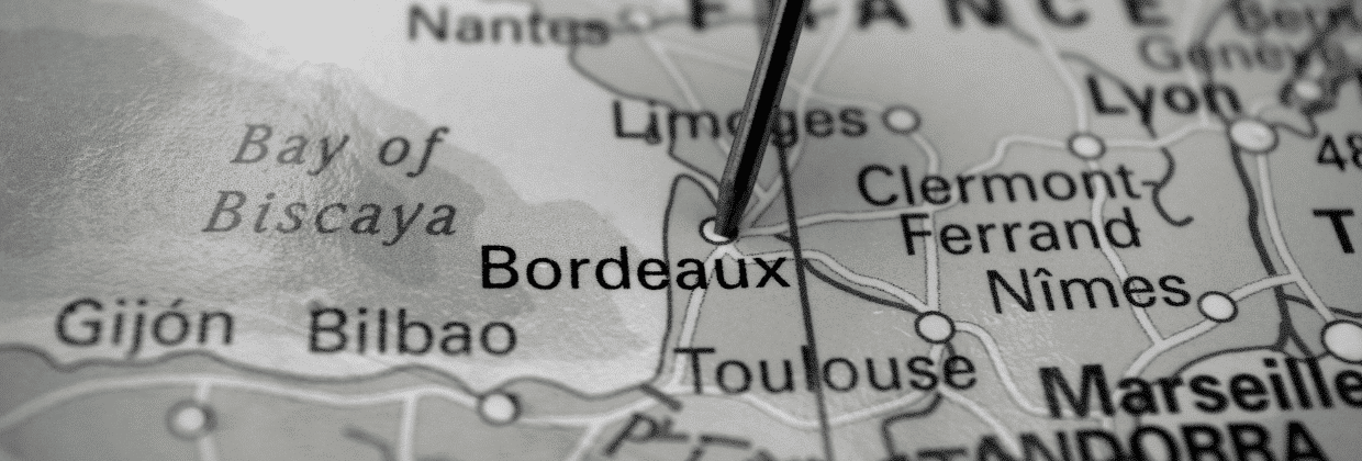 Repère carte Bordeaux Business