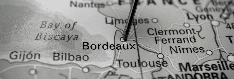 Repère carte Bordeaux Business