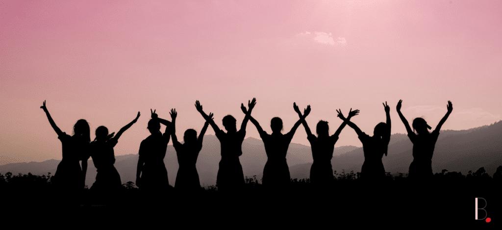 équipe femmes amitié partage business