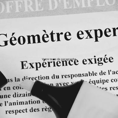Géomètre-Expert emploi perspective bordeaux