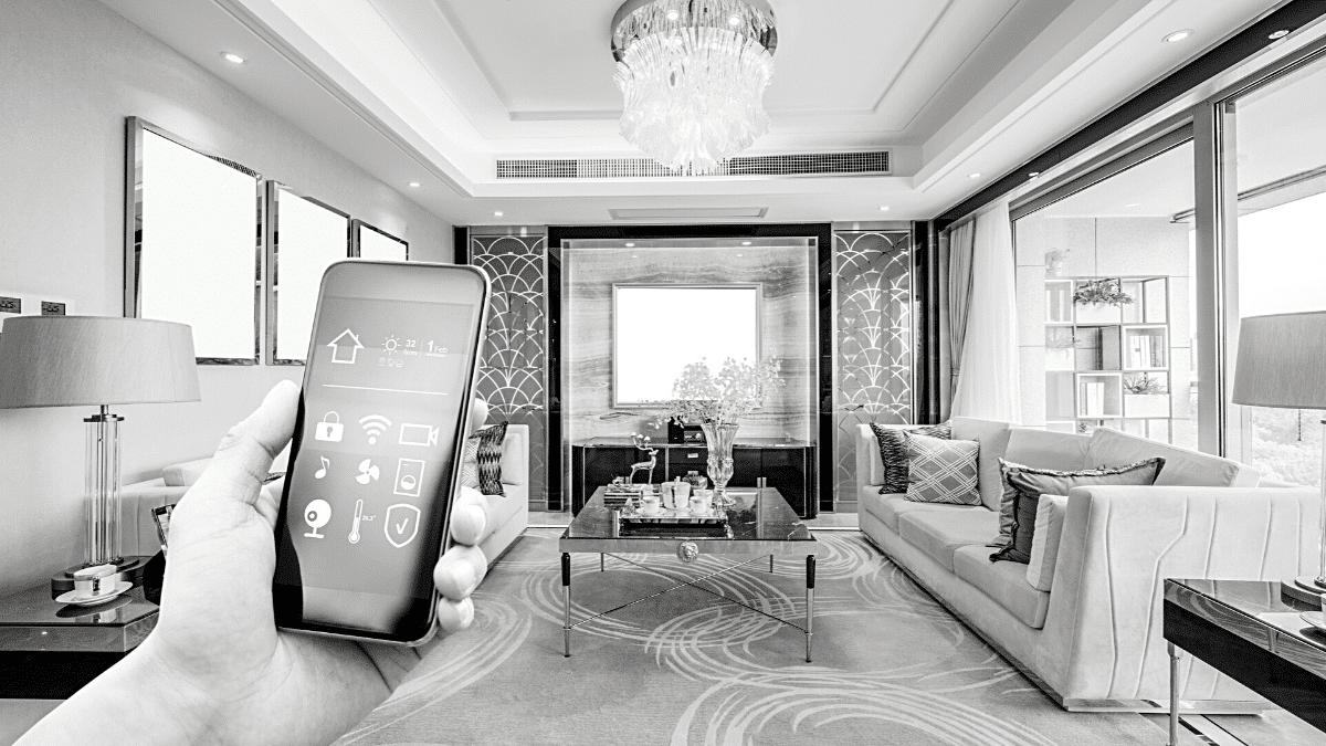 smart home application telephone