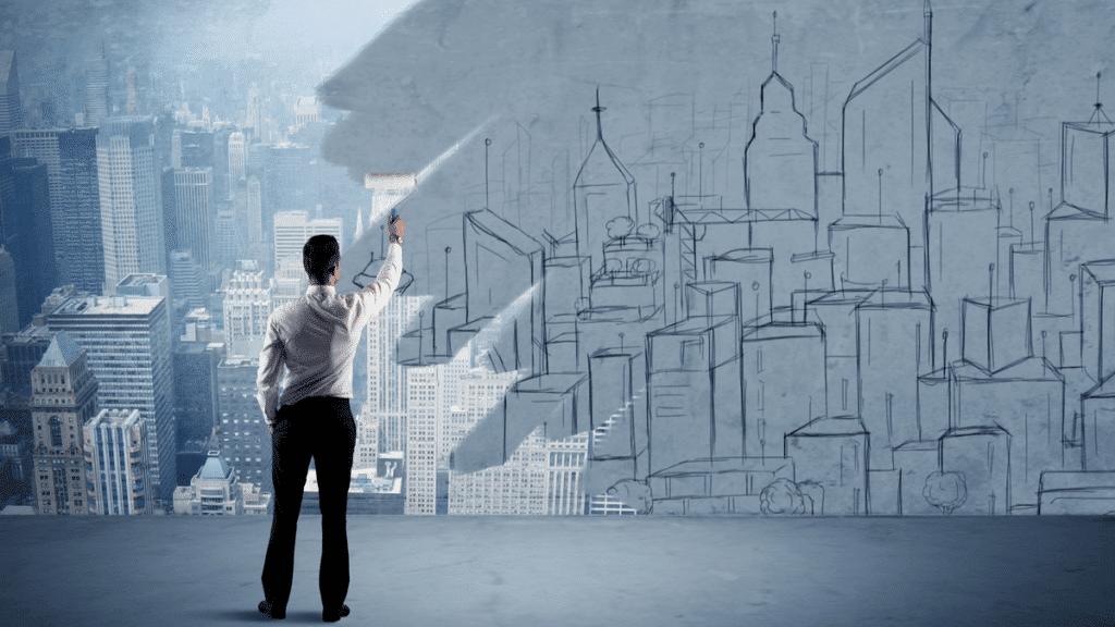 entreprises transformation numérique - Homme d'affaires