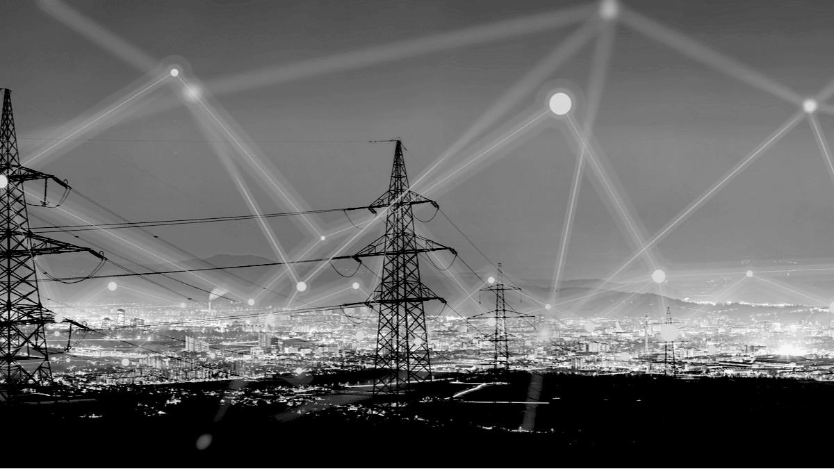 Les pôles d'électricité relient la ville et ses activités entre elles