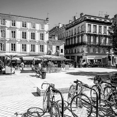 Espace urbain ville Bordeaux