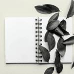 Note frais feuille sur cahier BORDEAUX Business