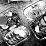 Distribution de paniers repas sur Bordeaux dans le cadre d'une initiative solidaire pour lutter contre le crise du Covid 19