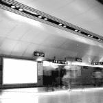 Affichage publicitaire métro