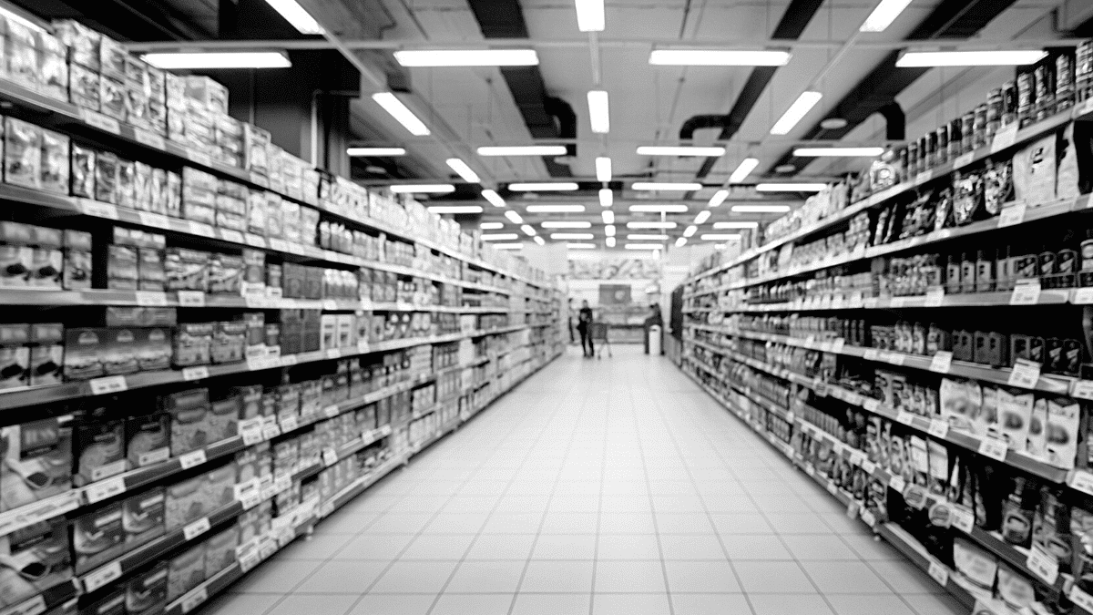 grande distribution magasins rayons produits