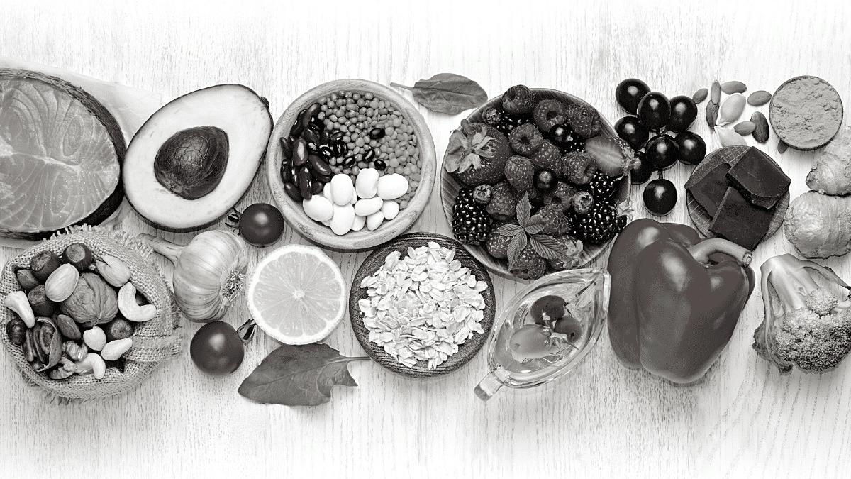 fruits et legumes table