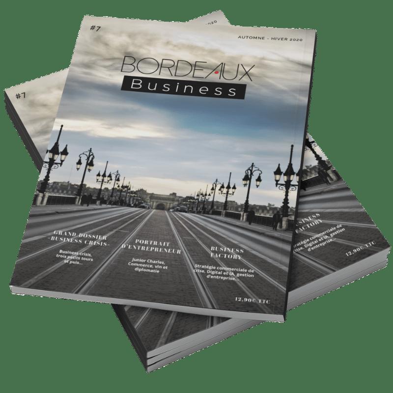 Couverture du magazine BORDEAUX Business automne-hiver 2020