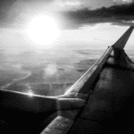 Easyjet avion en vol