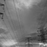 énergie électricité poteaux