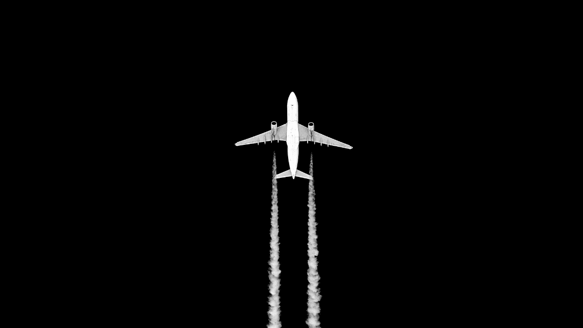 Avion à hydrogène en vol