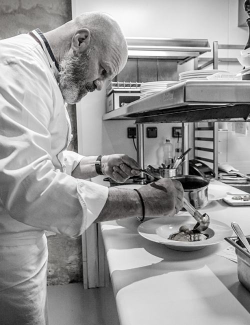 Philippe Etchebest cuisine resaurant Quatrième Mur Bordeaux