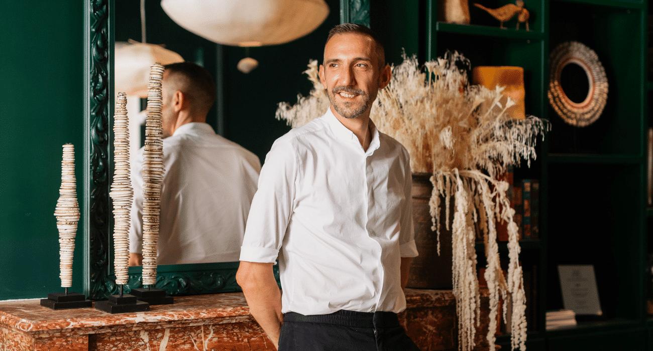 Stéphane Martinet fondateur de Autre Ambiance lieu événementiel à Bordeaux