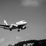 Marché aérien en vol avion
