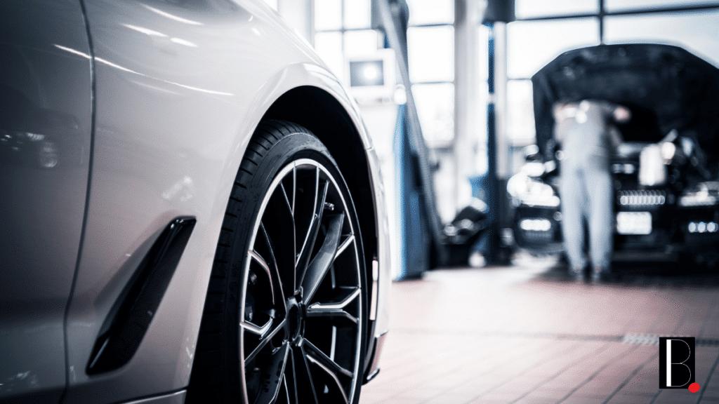Voiture garage réparation