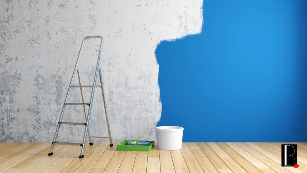 mur peinture occupation