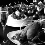 Fêtes de fin d'année repas