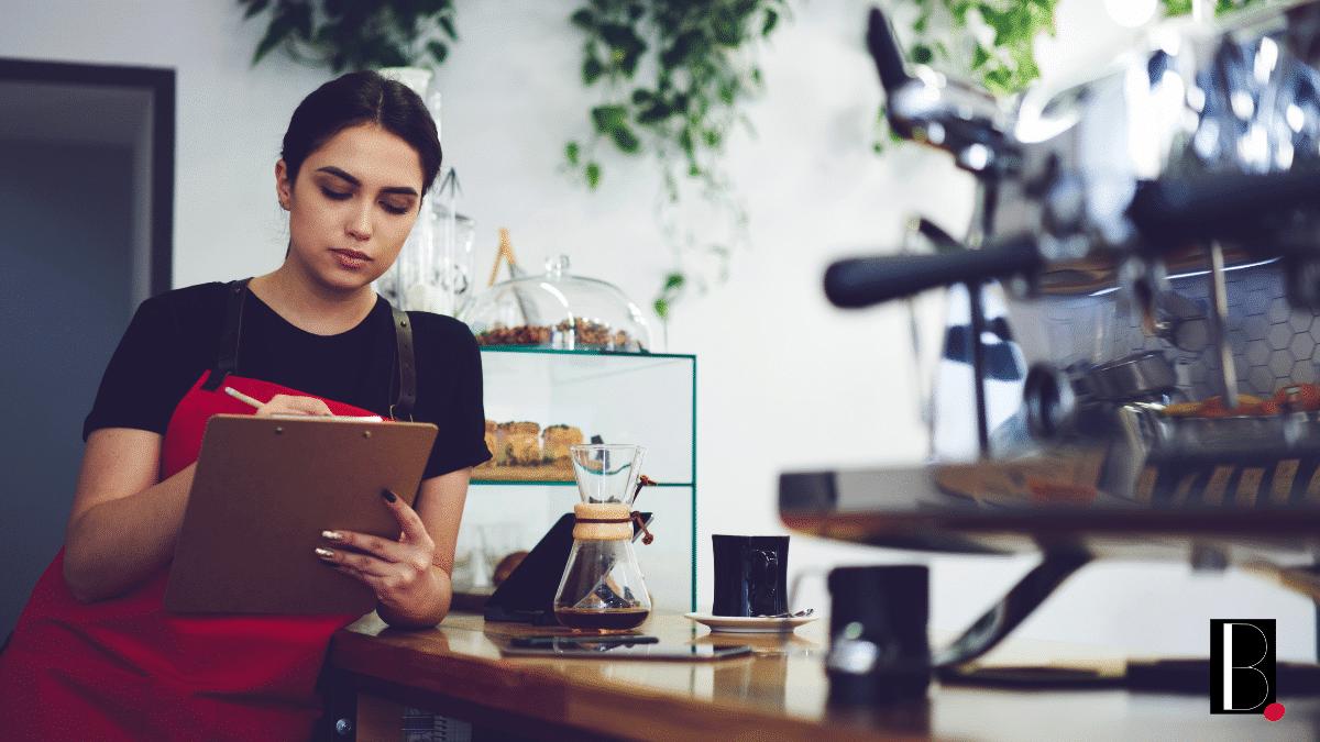Femme cafétéria franchise analyse ventes temporis