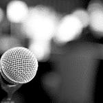 Micro discours conférence événement professionnel