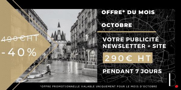 Offre Octobre 2020 Publicité BORDEAUX Business