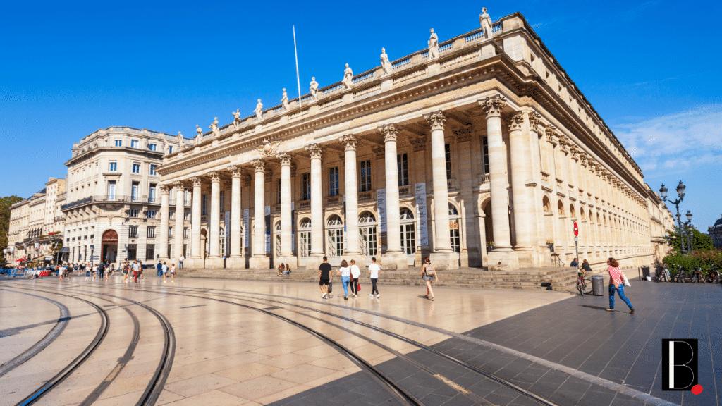 Opéra Place de la Comédie Bordeaux
