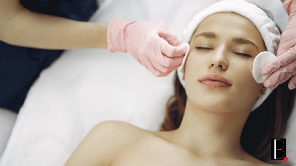 Beauté soin massage visage