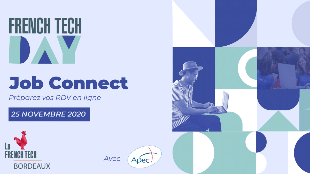 Poster Jobs Connect French Tech Bordeaux