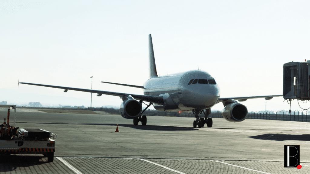 Airport tarmac ground plane