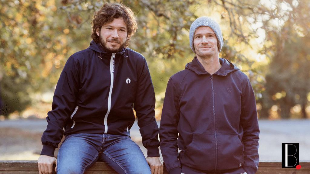 Basile et Nicolas fondateurs Nomads Surfing