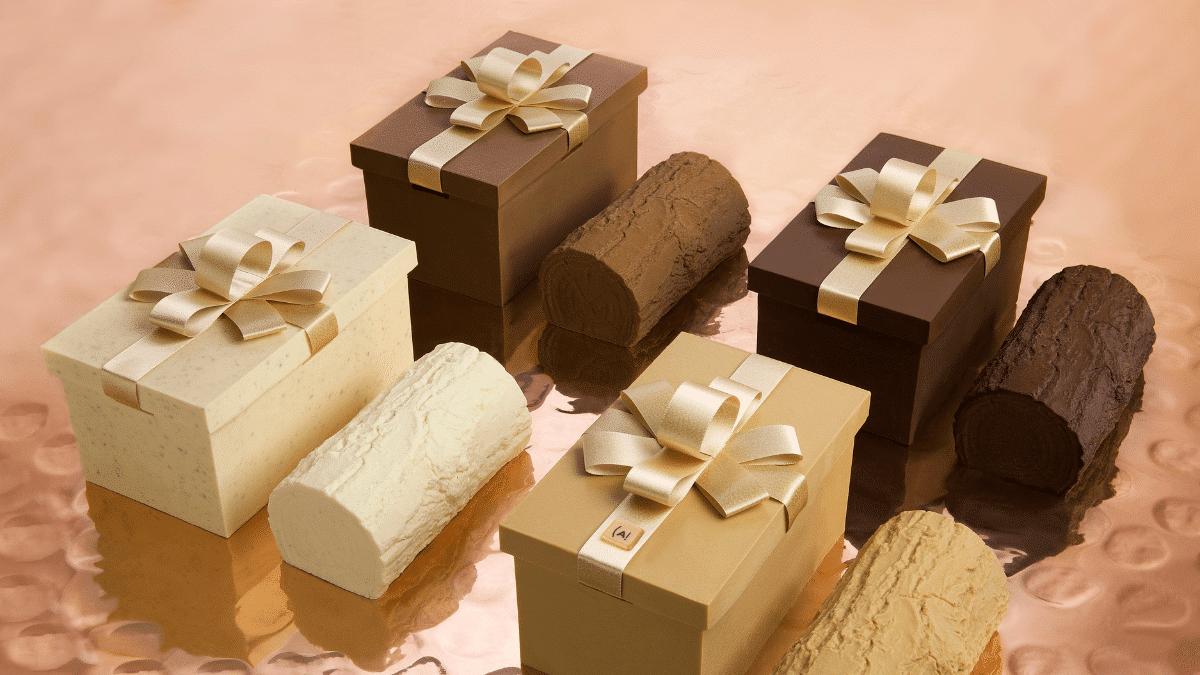 Bûches Noël chocolat gourmandise