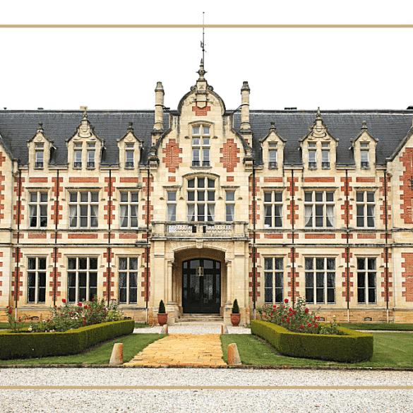 Château Cantenac Brown Vue de Face