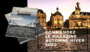 Commande Bordeaux Business magazine Automne Hiver 2020