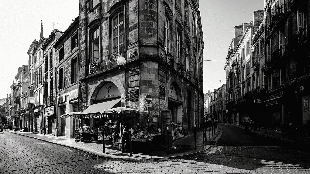 Les commerçants de Bordeaux