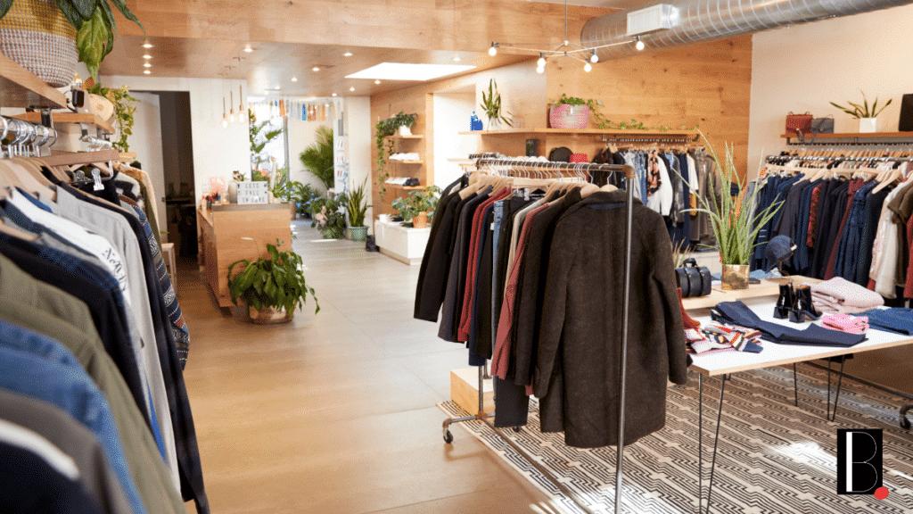 Trade clothing shop resumed