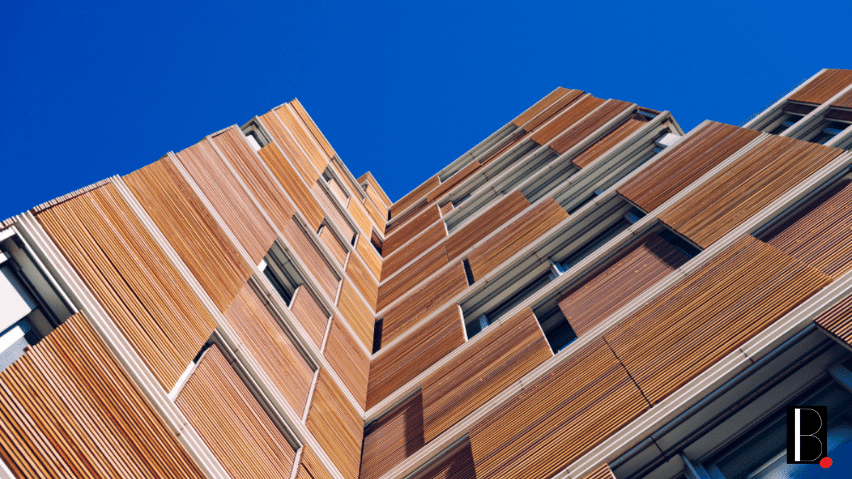 Bâtiment bois immeuble