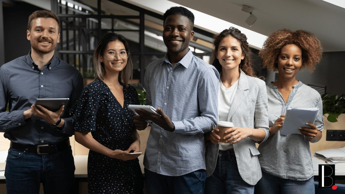 Entreprise collaborateurs aides soutien